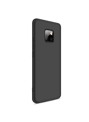 Microsonic Huawei Mate 20 Pro Kılıf Double Dip 360 Protective  Siyah